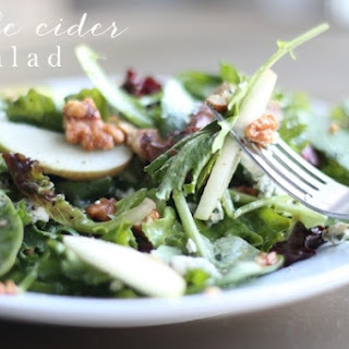 Fall Apple Cider Salad | Apple Cider Vinaigrette