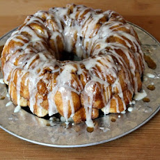 Eggnog Monkey Bread