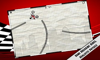 Screenshot of Stick Stunt Biker Free