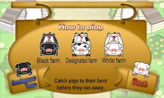 Screenshot of Catch Pigs