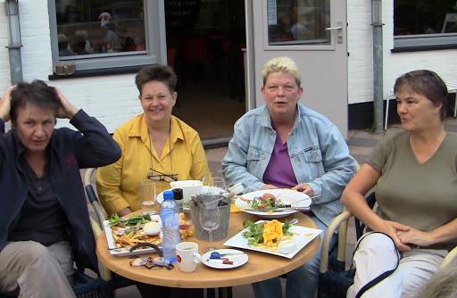 Ruit 6: Margot, Hanny, Vera en Dorine