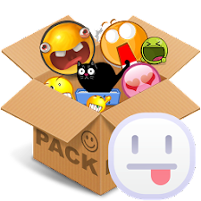 Emoticons pack, White