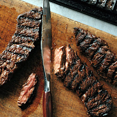 Grilled Marinated Sirloin Flap Steaks