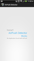 Screenshot of New Airpush Detector