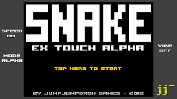 Screenshot of SNAKE EX TOUCH ALPHA