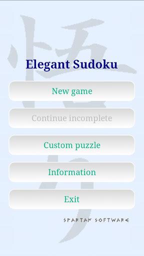 Elegant Sudoku Generator