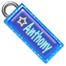 Anthony Name Tag