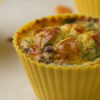 Southwest Style Egg Muffins with Black Beans and Corn