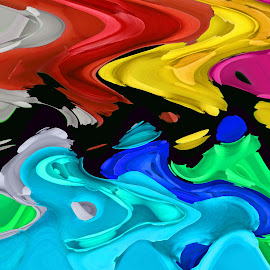 Colour Vs Colour by Asif Bora - Illustration Abstract & Patterns (  )