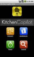 Screenshot of Kitchen Copilot Gold