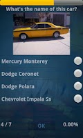 Screenshot of V8 Quiz - EXPERT Edition