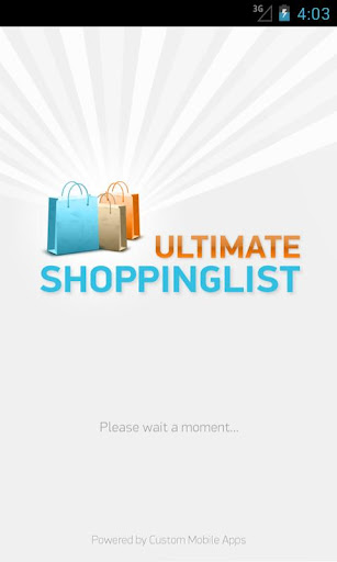 Ultimate Shopping List