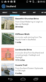 Southend Museums: art trail - screenshot