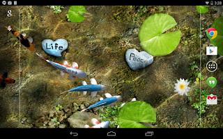 Screenshot of Koi Free Live Wallpaper