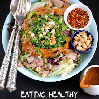 A Tuna Salad with my Favourite Asian Dressing & India's First Food Blogging Awards