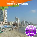 Tel-Aviv Street Map icon