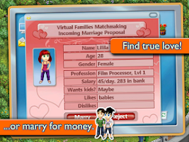 Screenshot of Virtual Families 2