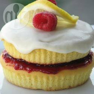 Raspberry Lemon Sponge Sandwich