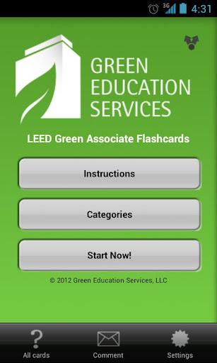 LEED Green Assoc. Flashcards