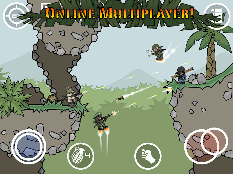 Doodle Army 2 : Mini Militia Screenshot 10