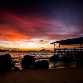Samudra Indah Beach by Zakie Abdullah - Landscapes Beaches