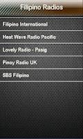 Screenshot of Filipino Tagalog  Radios