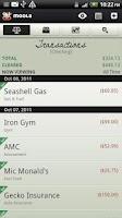 Screenshot of mooLa! (Checkbook & Finance)