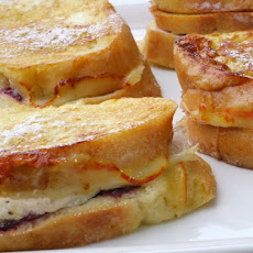 Leftover Turkey-Cranberry Monte Cristo Sandwiches