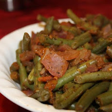Green Beans Stewed With Tomatoes