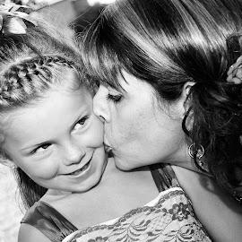 Little Kiss by Caroline Girard - Wedding Other ( kiss, girl, wedding, marriage, women )