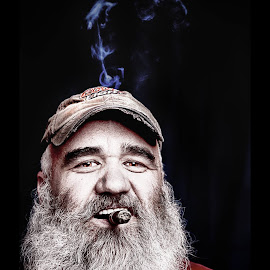 This is my good friend Mike, forgot to post over a year ago. by Donald Curtis - People Portraits of Men