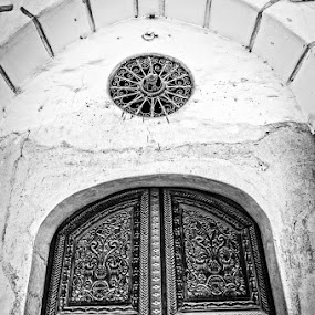 Beyond the Door by Jon Soriano - Buildings & Architecture Architectural Detail ( history, old, artistic, old town, door, architecture, nikon, antique )