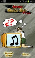 Screenshot of Anime Music Quiz FREE