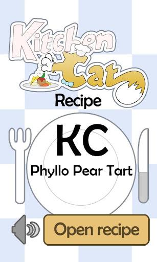 KC Phyllo Pear Tart