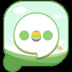 Easy SMS Spring Green theme icon