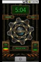 Screenshot of Battery Clock Live Wallpaper