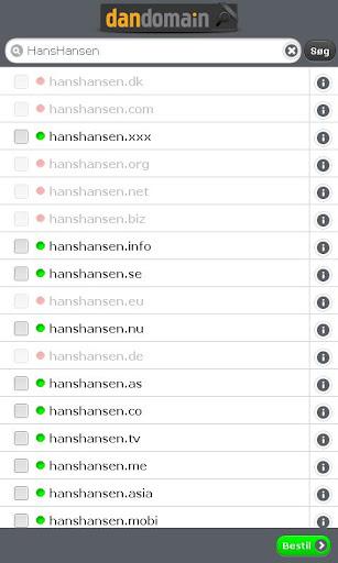 DanDomain domain tools