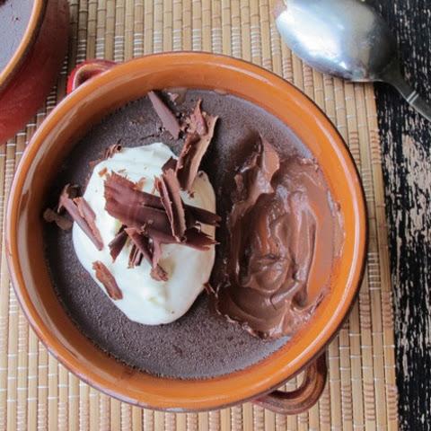 espresso creme brulee chocolate and vanilla pot de creme pots de creme ...