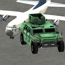 Army 4x4 operations at Airport