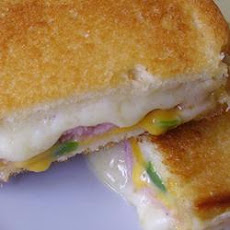 Spicy Ham and Grilled Cheese Sandwich