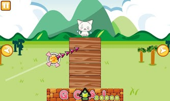 Screenshot of Landing Cat [Sweet Cat Puzzle]