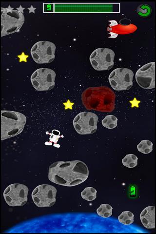 【免費街機App】Spaceman Dan-APP點子