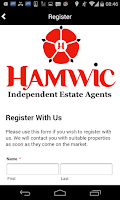 Screenshot of Hamwic Estate Agents
