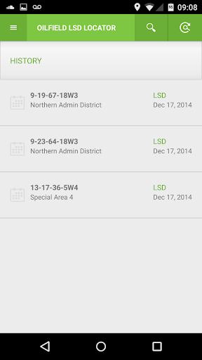 Oilfield Lease Locator LSD NTS - screenshot