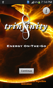 TRINFINITY8 On-the-Go PRO - screenshot