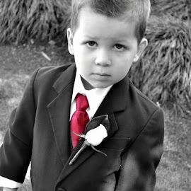 naww by Kristy Lamaro - Babies & Children Child Portraits ( #innocent, #man, #little, #wedding, #suit,  )