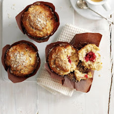 Apple & Raspberry Breakfast Muffins