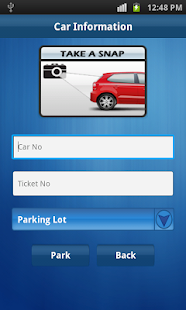 Parking Manager - screenshot