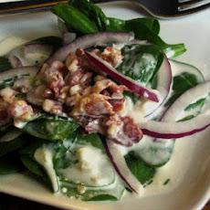 Bacon Buttermilk Dressing for Spinach Salad