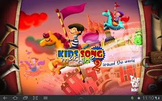 Screenshot of KIDS SONG MACHINE 2 FREE